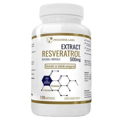 Extract Resveratrol 500 mg 120 Capsule